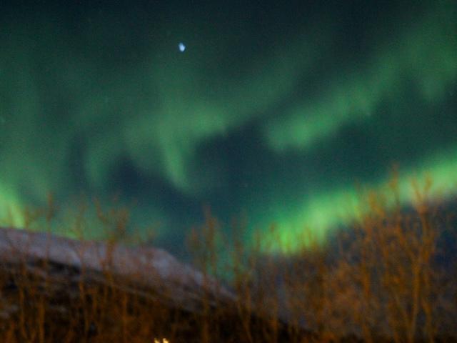 Polarlichter in Kiruna