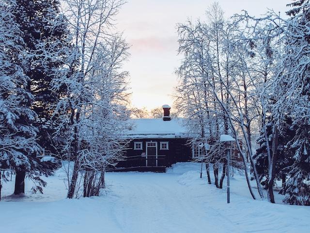 Kiruna in Lappland in Schweden