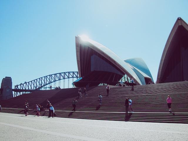 Reise route australien sydney