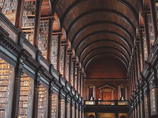 dublin irland trinity college