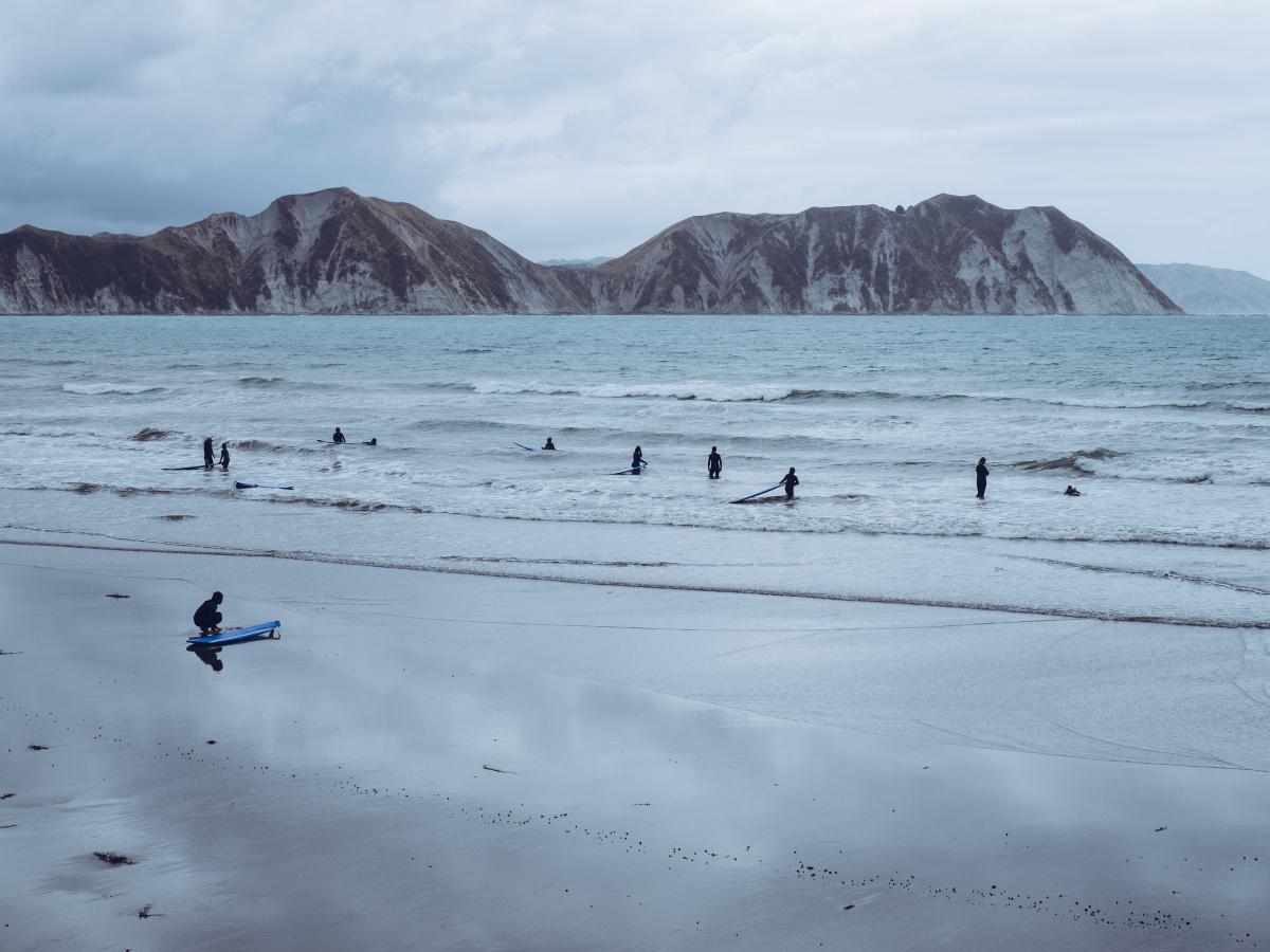 Neuseeland Eastcape Tolaga Bay