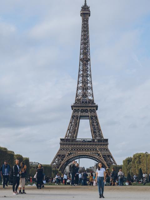 Paris Frankreich Eiffelturm