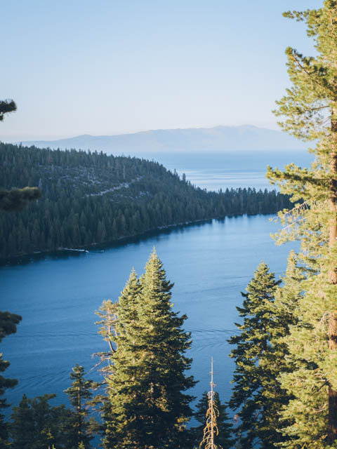 usa rundreise westkueste south lake tahoe emerald bay