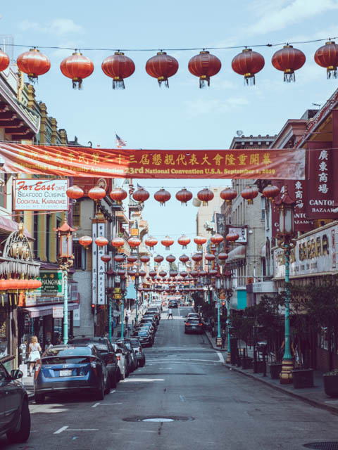 usa rundreise westkueste san francisco chinatown