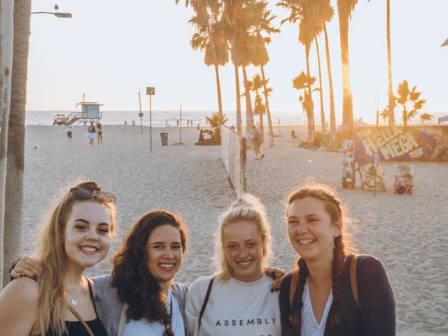 usa rundreise westkueste los angeles venice beach