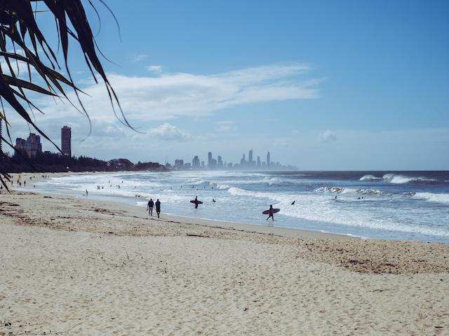 gold coast australien weltreise route