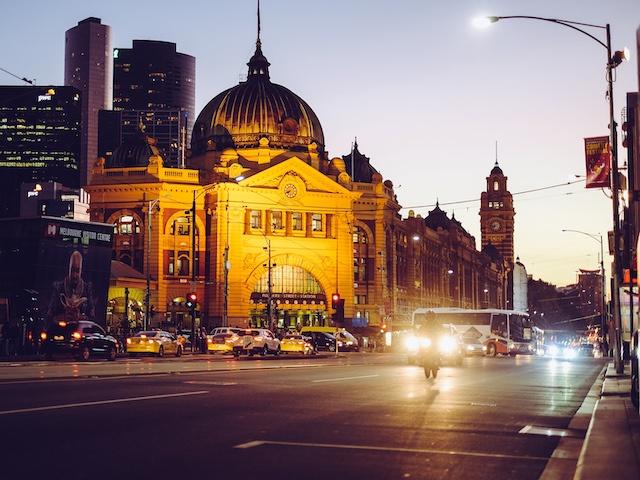 melbourne australien weltreise route