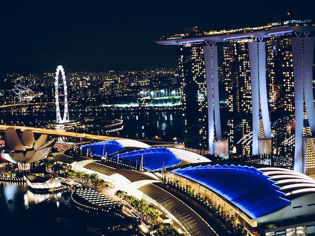 singapur weltreise route stopover