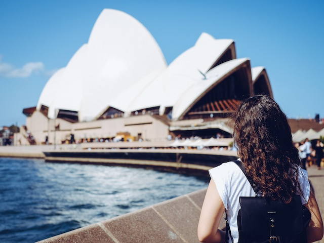 sydney australien weltreise route